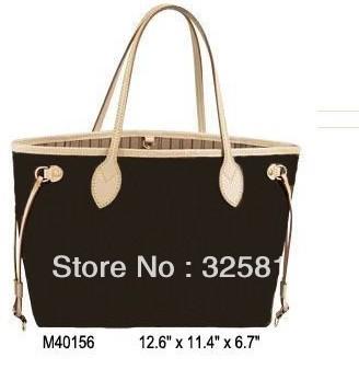 Wholesale Monogram Canvas M40156 NEVERFULL MM Women Lady Shoulder Hobo Tote Bags Designer Handbags