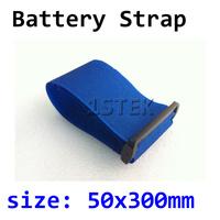 10Pcs 50 x 300mm Velcro Battery Strap For RC Hobby