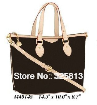 Wholesale Monogram Canvas M40145 PALERMO PM Women Lady Shoulder Hobo Tote Bags Designer Handbags