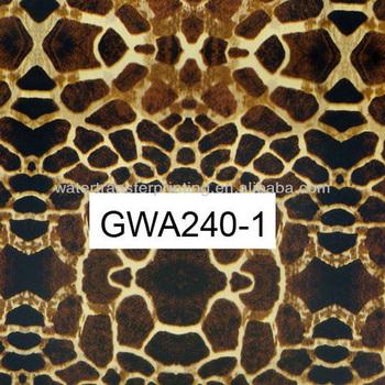 Water Transfer Printing Hydro Graphics Film--Spotted leopard pattern Width 100cm GWA240-1