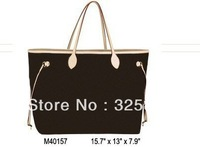 Wholesale Monogram Canvas M40157 NEVERFULL GM Women Lady Shoulder Hobo Tote Bags Designer Handbags