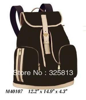 Wholesale Monogram Canvas M40107 BOSPHORE BACKPACK Women Lady Shoulder Hobo Tote Bags Designer Handbags(China (Mainland))