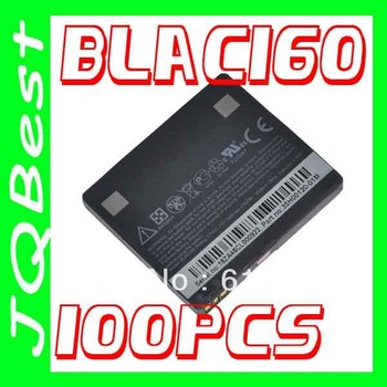 100pcs High capacity BLAC160 BA S340 Battery For HTC cellular Touch PRO HD Blackstone 100 T8282 Touch HD