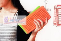 Free shipping(8pcs) wholesale candy color wallet / smart pouch bag / clean-up bag /handbag