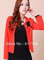 Spring and Autumn Korean version of the new suit jacket Slim short paragraph suit