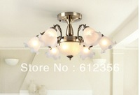 Free Shipping! fashion Europe classic glass ceiling vintage lamp .5075 - 6 2
