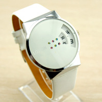 Popular watch fashion white personalized watches ladies watch student watch Free shipping free shipping