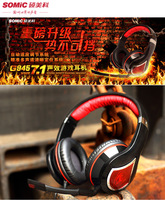 New Arrival Original Somic G945 v2012 headset game headset computer headset usb7.1 audio encoding +Free shipping