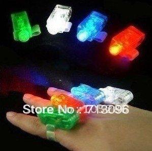 30pcs/lot Party LED Finger light Light up Finger light Finger light toy Free shipping