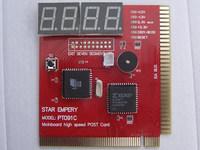 DeskPC 4Bit display PCI&ISA debug card POST code card Analyzer test card