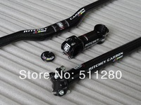 RITCHE Y WCS Carbon Fiber MTB handlebar seatpost Stem top cap bike bicycle parts Free Shipping