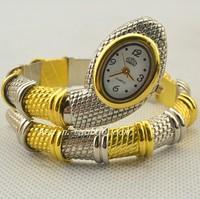Serpiform table diamond luxury bracelet watch bracelet watch fashion watches gold serpiform Free shipping free shipping