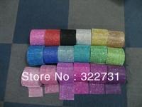 Free Shiping Diamond Mesh Wrap Roll Sparkle Rhinestone Crystal Looking Ribbon For Wedding
