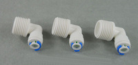 (3) 1/4 inch OD Tube * 1/2 inch Male Quick Connect Elbow Male BSP And Pipe RO Water System Without trouble Of Nut