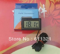 "500cm/197"" New Digital LCD Thermometer for Aquarium Fish Tank Freezer -50~ +70C Free Shipping V3467"
