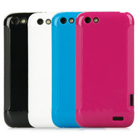 Free shipping**60pcs/lot** High qulity Anaglyph plastic case for HTC ONE V