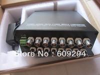 16Channels (Transceiver/Multiplexer) Digital Fiber Optical Video Converter mini  Fiber Optic Digital Video Converter