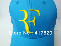 Free shipping !!!2013 latest foreign trade tennis Roger Federer RF Tennis tennis hat cap