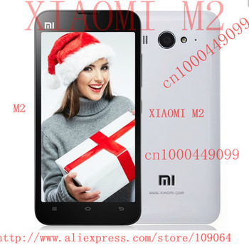 EMS/DHL Freeshipping XIAOMI Mi2 M2 Quad-core 1.5Ghz 2G RAM+16G/32GROM 3G Mobile Phones Android 4.1+miui 4.3''IPS screen 8MP