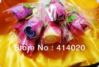 Microfiber Fabric home  personal clean , car clean , hotel use multi -fuction towel, 20*20CM  rose gift towel wholesale