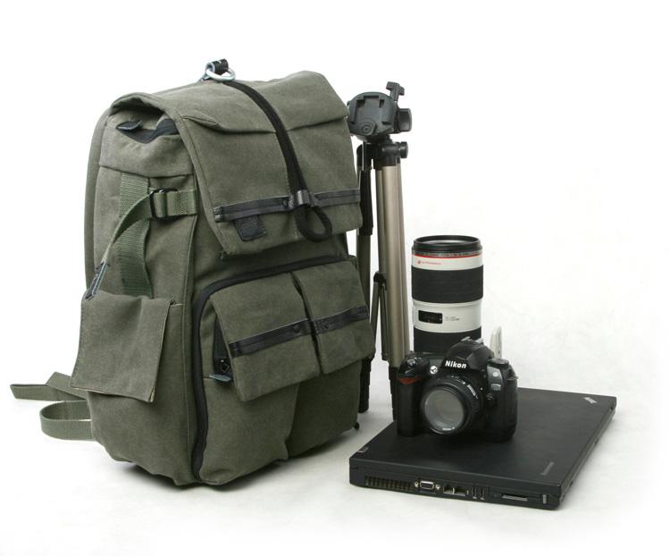 DRIFTWOOD 7610 double-shoulder camera laptop bag(China (Mainland))