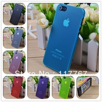 9 Colors New Ultra-thin Transparent Matte Shell Cover Case FOR Phone  670098-670106