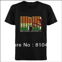 wholesale el t-shirt /led t-shirt/sound active el t-shirt /el music t-shirt