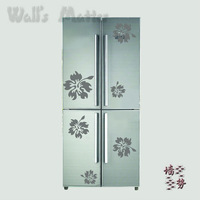 Removable Vinyl Flowers wall stickers refrigerator stickers window stickers Paper art Decal decor Sticker u0026
