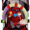 Free shipping Baby toy safety seat clip car hanging baby car hanging toy(China (Mainland))