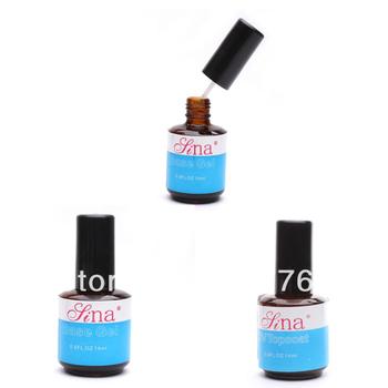 Hot New 14ml UV Base Gel Acrylic Polish Gloss Guard Glaze Tips Nail Art  600246