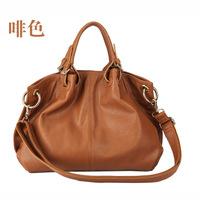 2013 New Fashion Leather like Soft shoulder casua vintagel handbag Dress code YL330