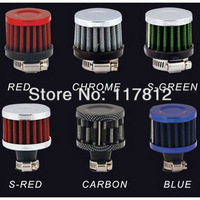 Free Shipping 12mm Reusable Oil Catch Crankcase Vent Breather Intake Mini Cone Air Filter