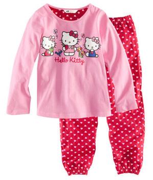 2014 6sets/lot long sleeve homewear pink baby clothing, girl pyjamas, pijamas kids pajama set