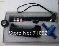 Wholesale - 1000 mw laser pointer + starry sky charger retail/green laser and box in the set for 5000 meters