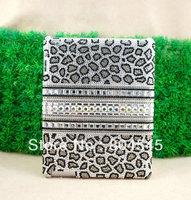 Diamond Pearl Bling Leopard Hard Back Case Cover For Apple Ipad mini