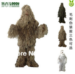 Outdoor sports equipment store+Free shipping:Ghillie suit/Camouflage suit/hunting clothing/Woodland Ghillie suit(China (Mainland))