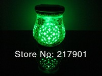 Wholesale And Retail High quality Rechargable Ivory Color LED Ceramic Solar Light