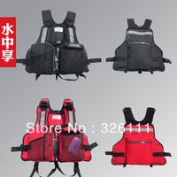 Free shipping men and women fishing vest fishing vest life jacket snorkeling rock fishing clothing the removable floating materi