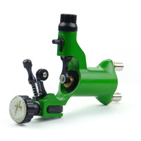Green Rotary Motor Tattoo Dragonfly Style Machine Gun for Shader & Liner Supply  B00016-3