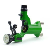 Green Rotary Motor Tattoo Dragonfly Style Machine Gun for Shader & Liner Supply  B00016-3