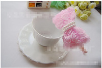 2pcs/lot The summer of 2013 The new Rose beaded knot hair bands free shipping