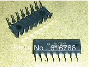5pcs/lot 75174 SN75174N DIP-16 new original Four differential line driver,free shipping(China (Mainland))