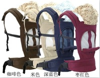 2013 new design fashion breathable baby carrier, mesh fabric sandwich baby slings and wrap backpack 4 colors available