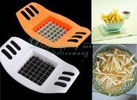 Home Kitchen Fries Potato Cutter Slicer Chopper Stainless Steel