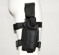 TACTICAL AIRSOFT PAINTBALL LEG HOLSTER free ship