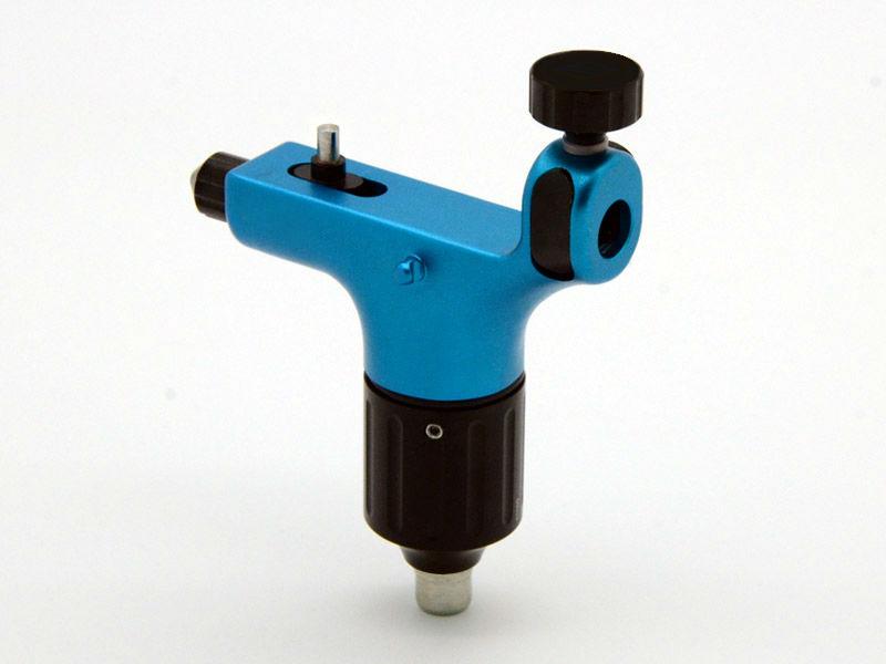 Blue Rotary Tattoo gun Machine Liner Shader RCA Plug Swiss Motor supply(China (Mainland))