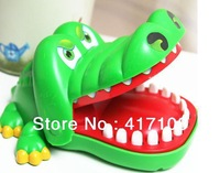 Funny Tricky puzzle toy biting crocodile head series paternity toys children toys free shipping