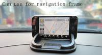 12pcs/lot car navigation pad Rubber Mobile Phone Shelf  mat /Free shipping!