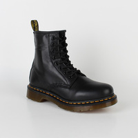 Dr . mannar 1460 8 black soft leather martin boots