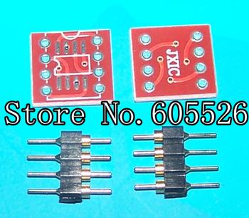 20PCS SOP8 to DIP8 SOP8 turn DIP8 SOIC8 to DIP8 IC socket   New And Original Parts (SOP pinDIP)